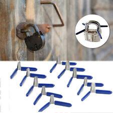 6 Set-Premium Padlock shims COLORATO esercizio CASTELLO NERO lockpicking