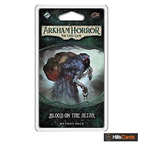 Sangue-sull-039-altare-MYTHOS-Pack-espansione-Arkham-Horror-Gioco-di-Carte-LCG-AHC05
