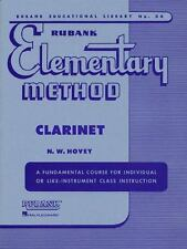 Rubank Elementary Method - Clarinet (1992, Paperback)