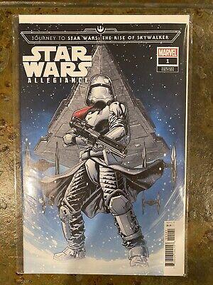 Star Wars Journey To Rise Of Skywalker Allegiance 1 Target Variant Marvel 759606094158 Ebay