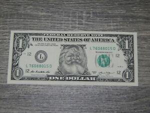 The 1 Dollar Bill Real U S