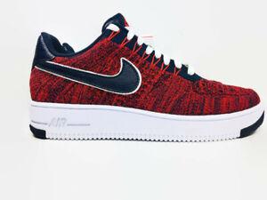 buy online 04fa7 c662f Details about Nike AF1 Ultra Flyknit Low RKK Robert Kraft Patriots Red Mens  Size 8 AH8425-600
