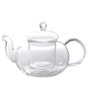 Tea-Kettle-800ml-Clear-Glass-Heat-Resistant-Chinese-Teapot-Transparent-Pot