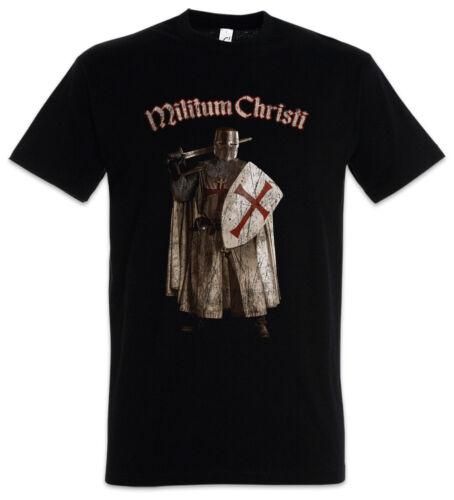 Templar III t-shirt Cross templerkreuz Knight caballero Ordo medalla Crusade Crusader