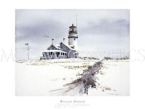 Mangum William Cape Cod Lighthouse Art Print Poster 18 X 24