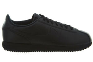 14af81db0 NEW Nike Cortez Basic Leather 819719 001 Men's Black Lifestyle ...