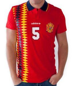 d7828ea54e5df RARE XL adidas Originals Men s SPAIN E12 REF TEAM FUTBOL POLO SHIRT ...
