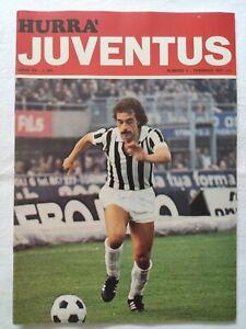 HURRA-039-JUVENTUS-N-2-FEBBRAIO-1977-FRANCO-CAUSIO-GIOVANNI-TRAPATTONI-CUCCUREDDU