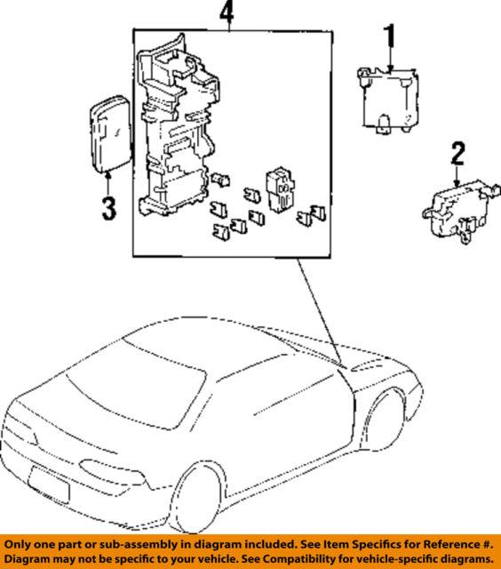 Oem 97 98 Honda Prelude At Auto Transmission Puter Control Module Rhebay: Honda Civic Transmission Control Module Location At Gmaili.net