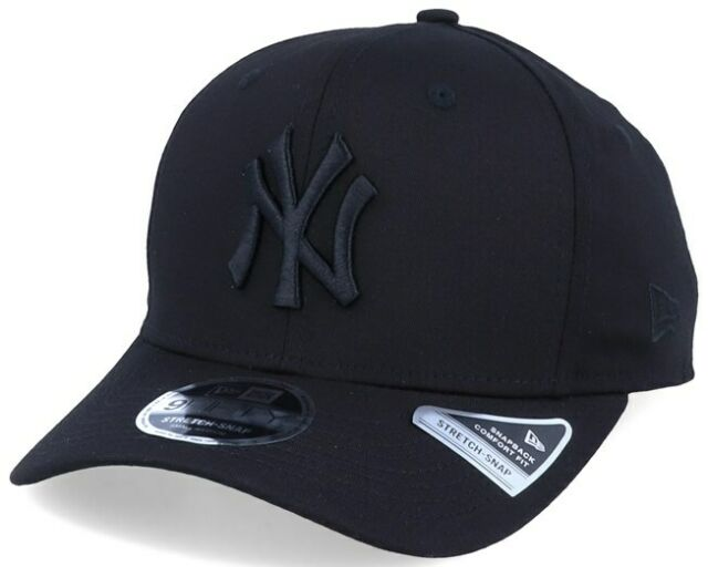 New York Yankees Cap In Black Stretch Snap 9FIFTY - FREE DELIVERY