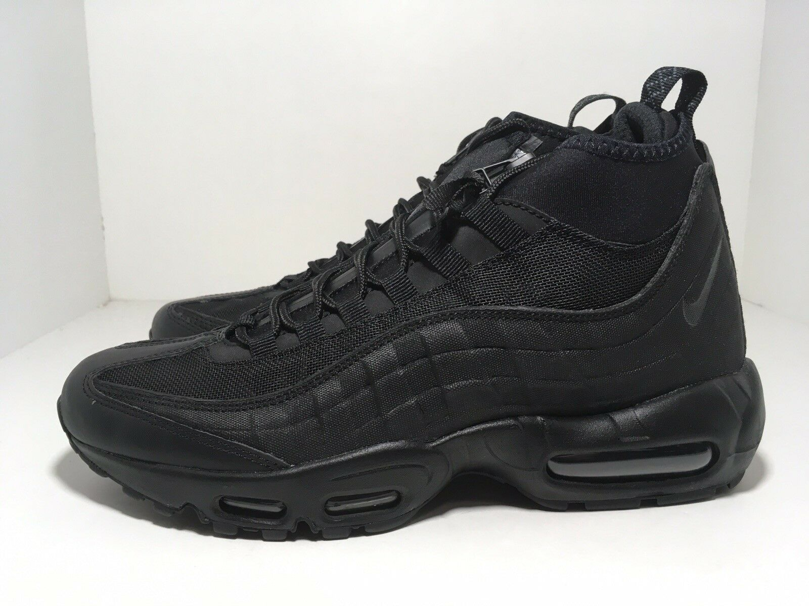 Nike Air Max 95 Sneakerboot Black 806809-002 Men's shoes Size 8
