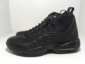 b6e9bc1343 Nike Air Max 95 Sneakerboot Black 806809-002 Men's Shoes Size 8 ...
