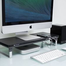 Computer iMac Laptop Pad Desktop Workspace Monitor Riser Desk Adjustable Stand