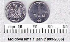 MOLDOVA 1 BAN UNC COIN # 2116