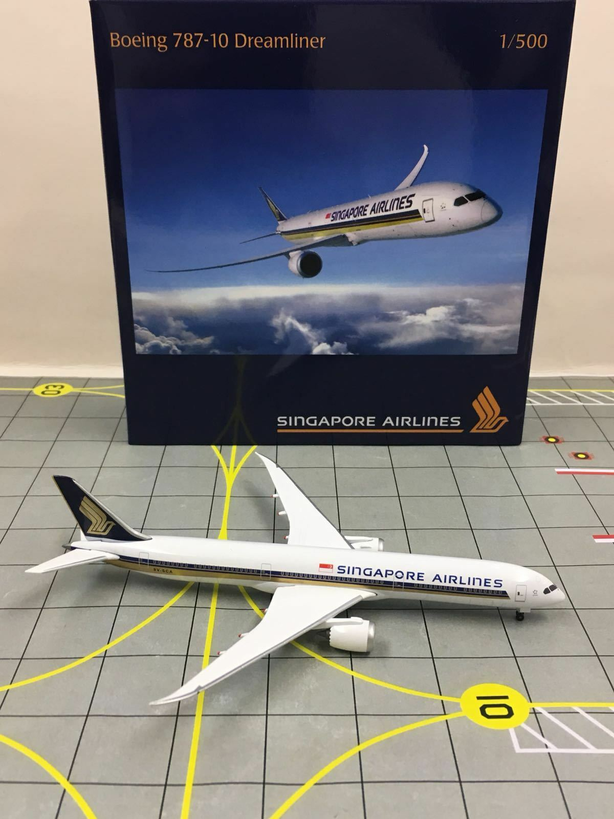 Herpa wings 1  500 531511 singapore airlines b787-10 dreamliner exklusive 9v-sca