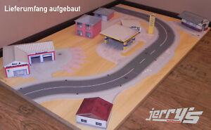Spur-H0-Jerrys-RC-Strassen-1-87-NEU-fuer-ferngesteuerte-Autos-RC-Car