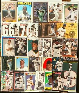 28-card-BARRY-BONDS-Pittsburgh-Pirates-San-Francisco-Giants-lot-2-ROOKIES