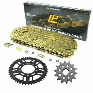 13t 47t 520 chain sprocket kit set for yamaha yz125. Black Bedroom Furniture Sets. Home Design Ideas