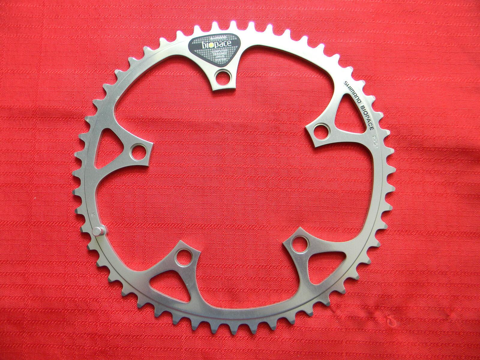 Vintage Shimano Biopace Chain Ring, LD Type 130mm Bolt Circle Dia. Teeth 52 LD