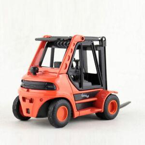 1-24-Gabelstapler-Die-Cast-Modellauto-Auto-Spielzeug-Model-Sammlung-Orange