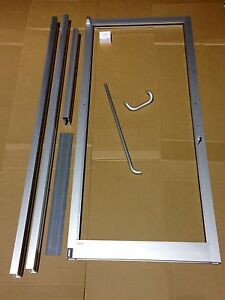 GLASS ALUMINUM STOREFRONT DOOR, AND FRAME 3\'0 X 7\'0 COMMERCIAL GRADE ...