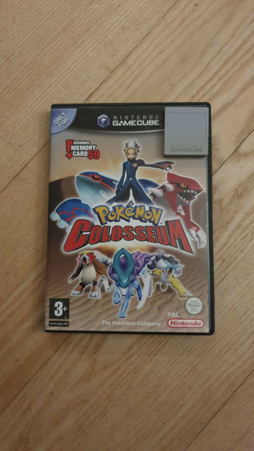Pokemon colosseum med memory card, Gamecube, Pokemon…