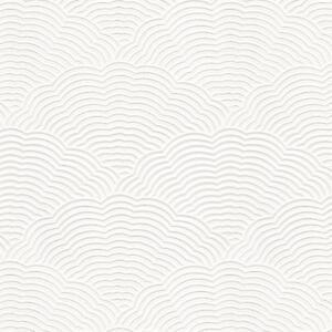 Image Is Loading Paintable Blown Vinyl Fan Artex Embossed Textured Wallpaper