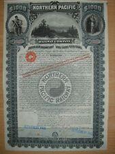 Northern Pacific Railway Company  1896  U: Daniel Scott Lamont