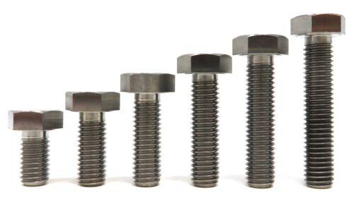 M8 Titanium DIN 933 Hex Head Full Thread Bolt Fastener