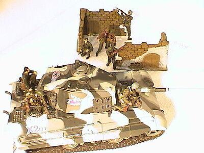 Amabile 358+ Wehrmacht Panzerzug Vagone Dr Carro Armato Vagone Camo Tarn Colore-mostra Il Titolo Originale