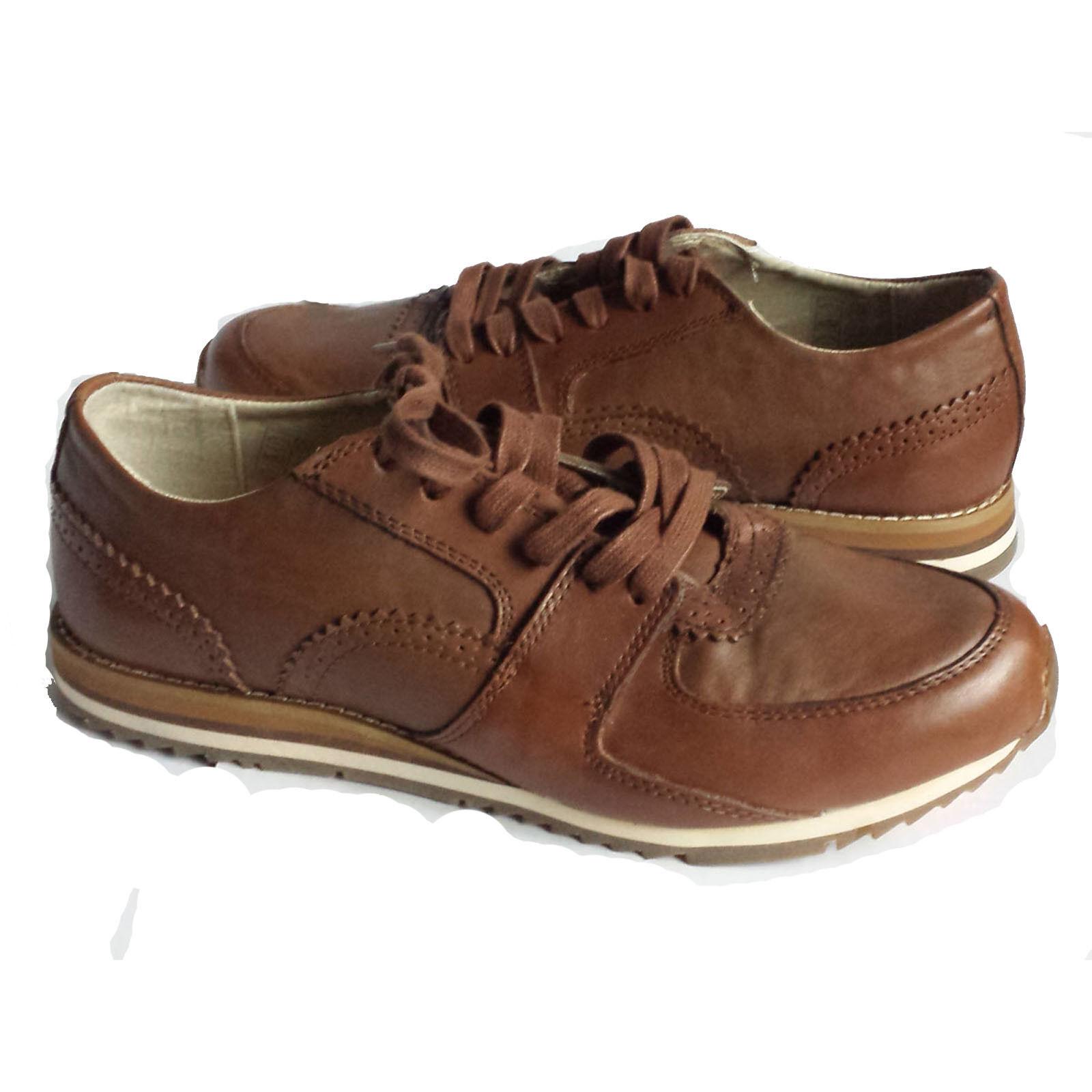 Scarpe casual da uomo  Vince Camuto uomo Brown Shoes Size 8.5 GORI Fashionable Sneakers