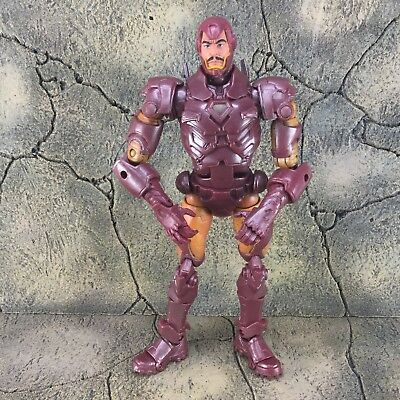 Marvel Avengers Initiative Iron Man Tony Stark PVC Ironman Statue Figure Action