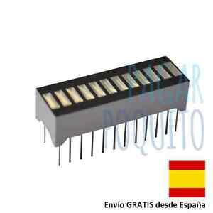 Display-led-12-segmentos-grafico-de-barra-rojo-Arduino-prototipo-electronica-DIY