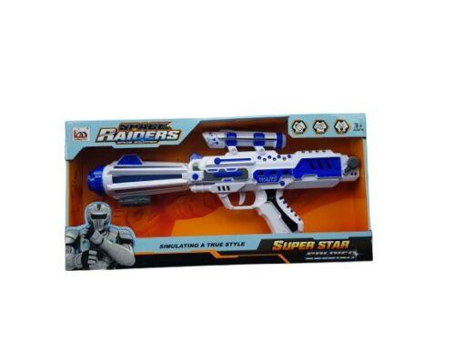 Space Raiders simulant vrai style jouet pistolet lumière puissante Effet Sonore Kids Fun