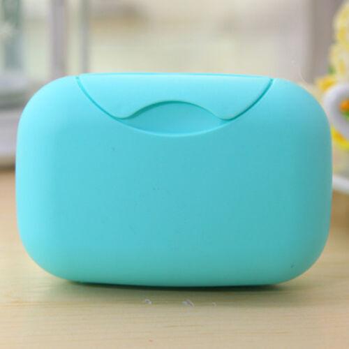 Travel Portable Soap Dish Case Container Plastic Lock Leak Dish Plate 2019 New