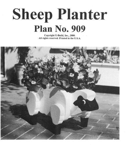 U-Bild Plan Pack To Make This Great Sheep Planter PU909