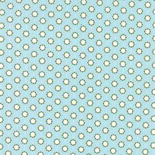 Little Miss Sunshine Summer Sky Floral  Moda Quilt Fabric 1.25 yards remnant #7B