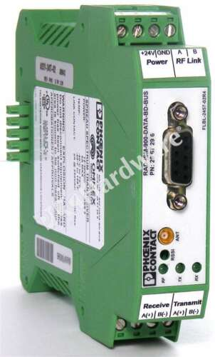 Phoenix Contact RAD-ISM-900-DATA-BD-BUS Wireless Transceiver f// 900 MHz ISM Band