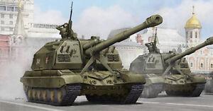 Trumpeter 05574 - 1:3 5 Russe 2S19 Automoteur Usine 152mm Howitz - Neuf