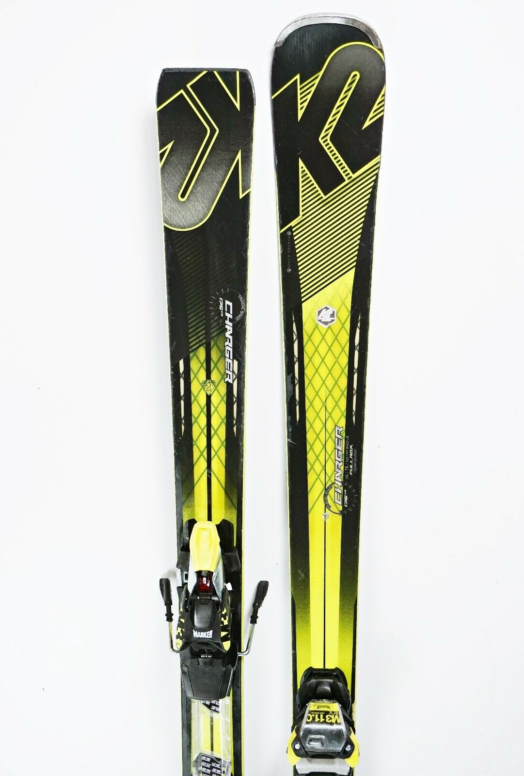 Ski K2 Charger Speed Rocker Carver Full Rox 175cm + M3 11.0  Modell 2017 (FH284)