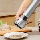 Stainless Steel Electric Salt Pepper Sauce Herb Mill Grinder Muller Kitchen Tool