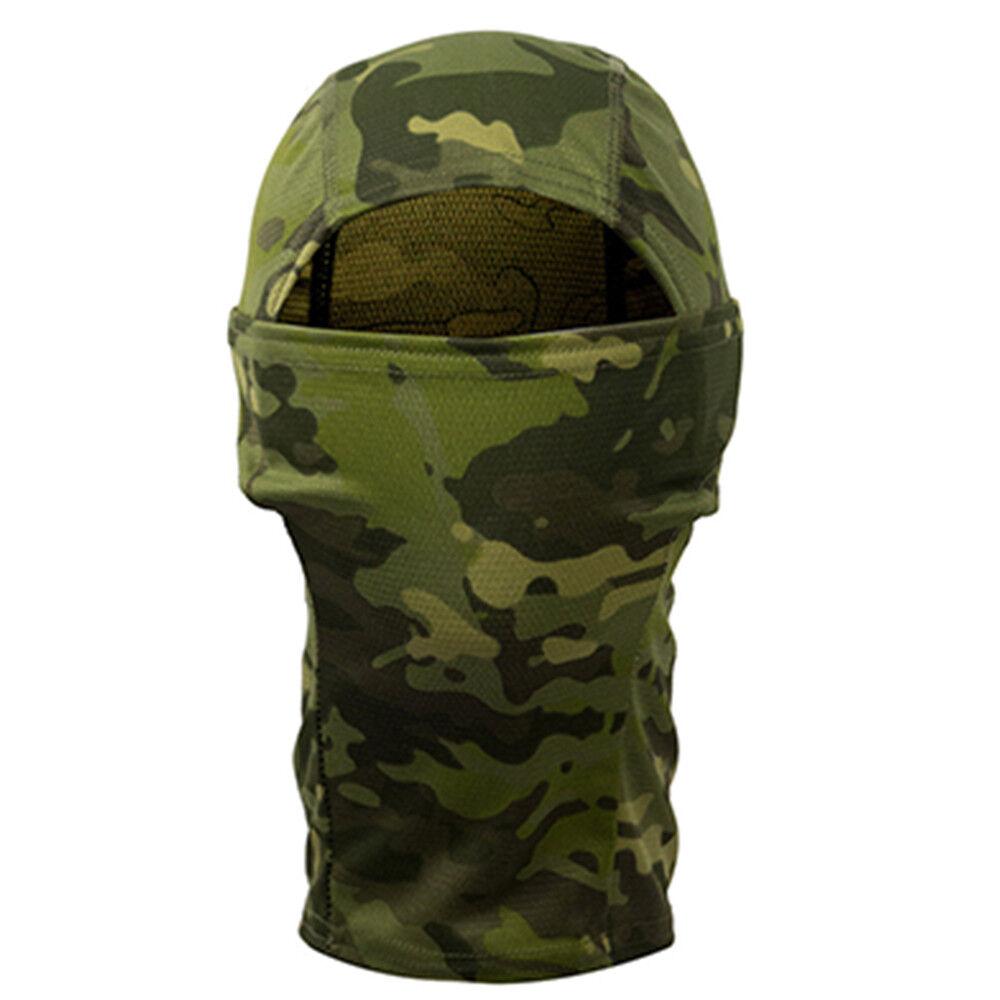 Tactical Outdoor Camo Hunting Scarf Cap Balaclava Winter Hat Face Mask Ski Mask