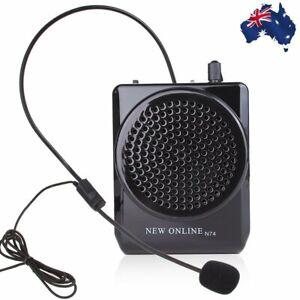 8 ~ 15 ч 15 Вт портативный усилитель голоса Мегафон микрофон динамик вывод звука