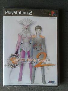 PS2 playstation digital devil saga 2 JAP NEUF /NEW