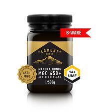 Manuka Honig B-WARE Egmont Honey MGO 450+ UMF 14+ 500g aus Neuseeland