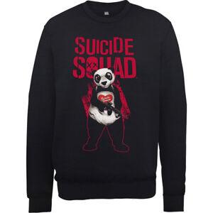 Comics Dei Squad Mens Nera Dc Felpa Suicide Man Panda Ponticelli Disegno Joker AHx6wqSg