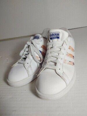 Adidas Originals Women's Cloudfoam Advantage Sneaker, White/Clear Orange/Chalk. | eBay