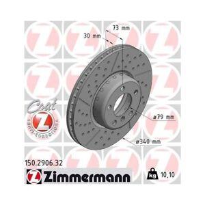 2x-Bremsscheibe-Bremse-NEU-ZIMMERMANN-150-2906-32