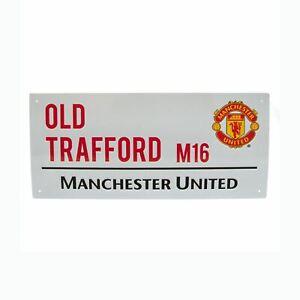 Manchester-united-Vieux-Trafford-Strret-Signe-Enfants-Chambre-Neuf