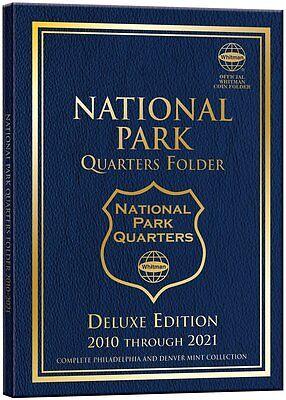 No coins P/&D Mint 2010-2021 Whitman Classic National Parks Album Only